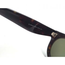 Celine CL 41043S Round Sunglasses Dark Havana with Gold Frame Green Lens (6)