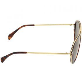 Celine Women's CL 41374S 41374S 3UAIR HavanaGold Pilot Sunglasses 54-17-140 (3)