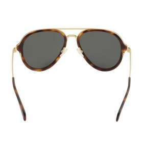 Celine Women's CL 41374S 41374S 3UAIR HavanaGold Pilot Sunglasses 54-17-140 (4)