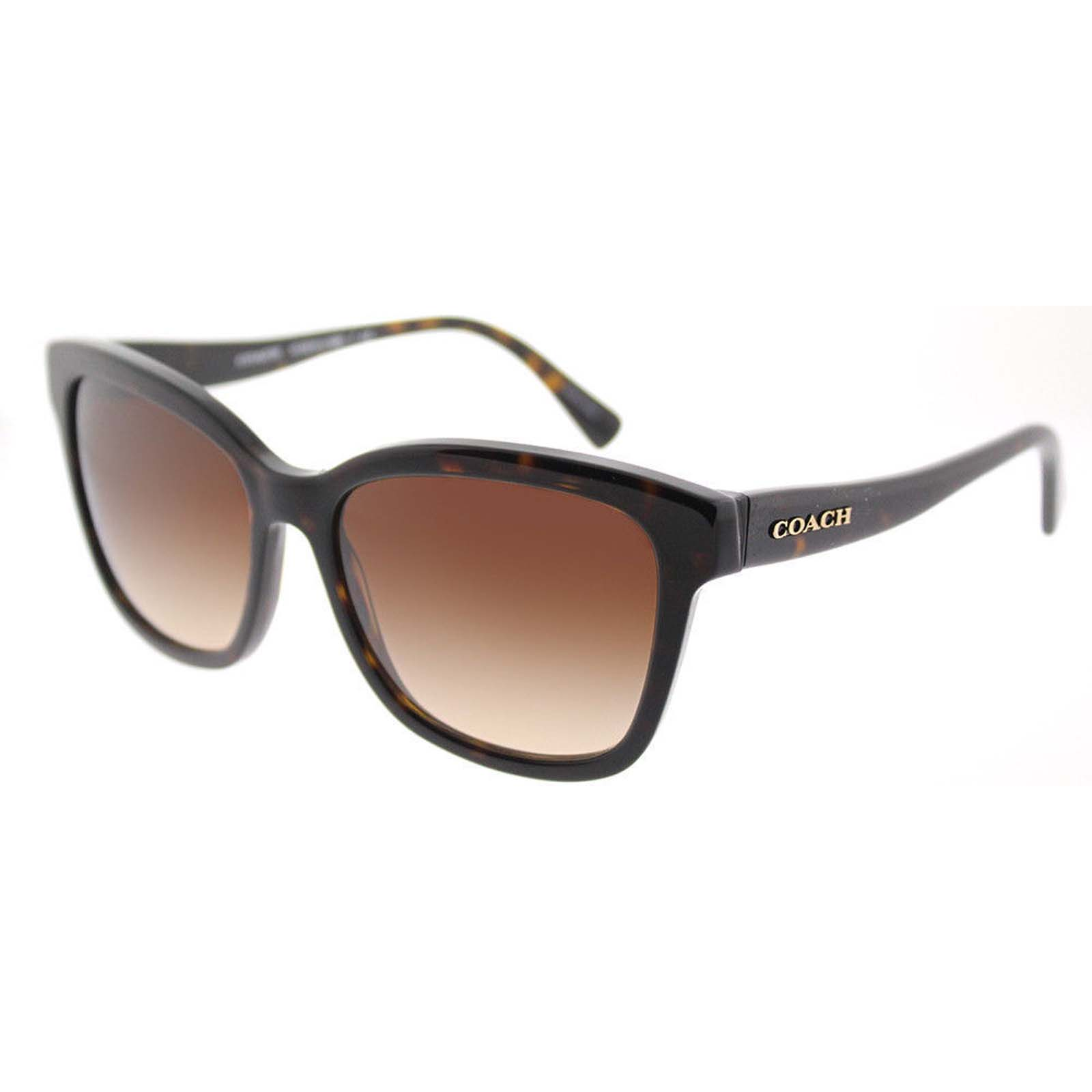 7246858d65 Coach HC 8219 512013 Dark Tortoise Plastic Sunglasses Brown Gradient ...