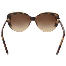 Coach HC8157 533813 Glitter Dark Tortoise Cat Eye sunglasses (4)