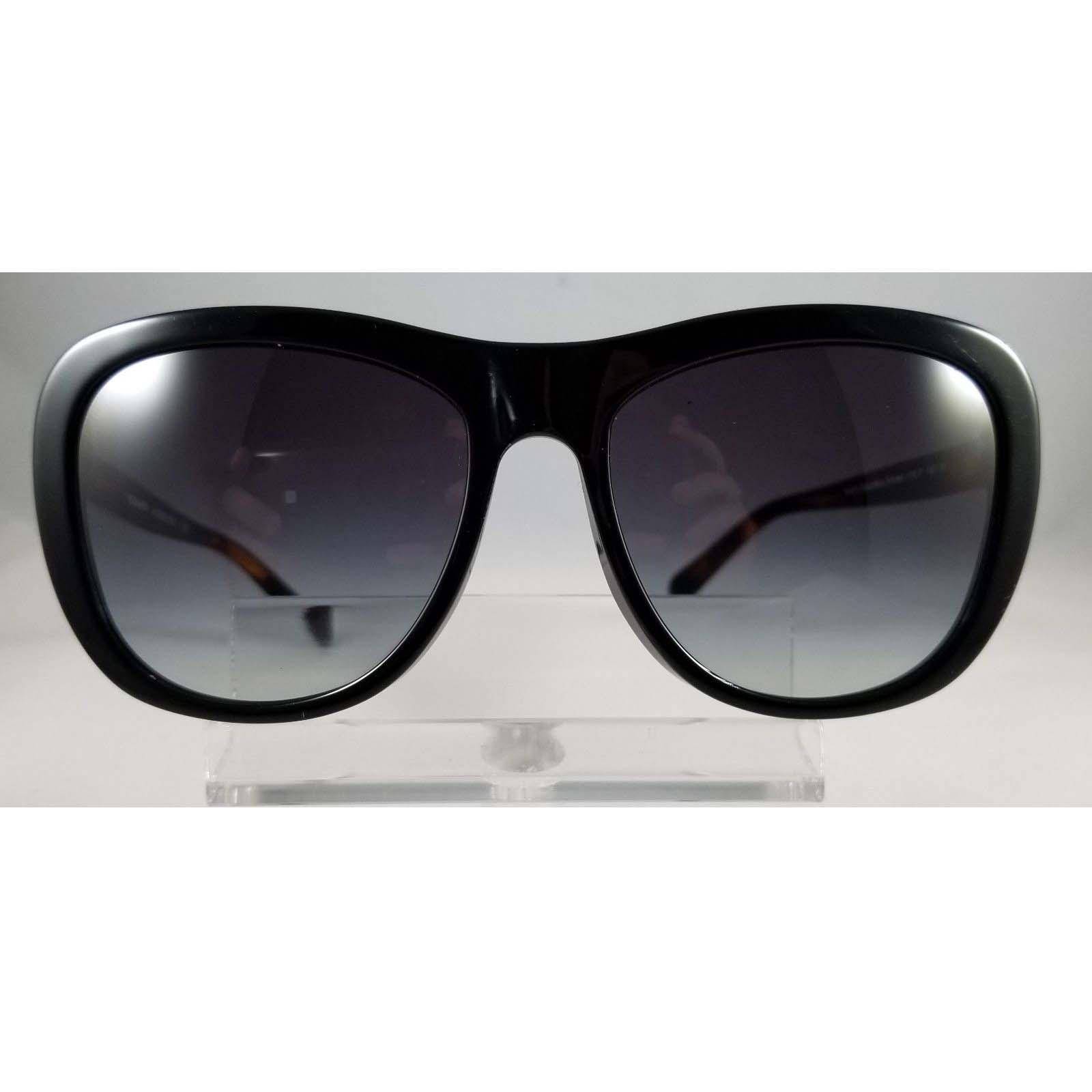 5671e38faf Coach HC8204 544211 Cat Eye Sunglasses Black Black Tortoise Grey ...