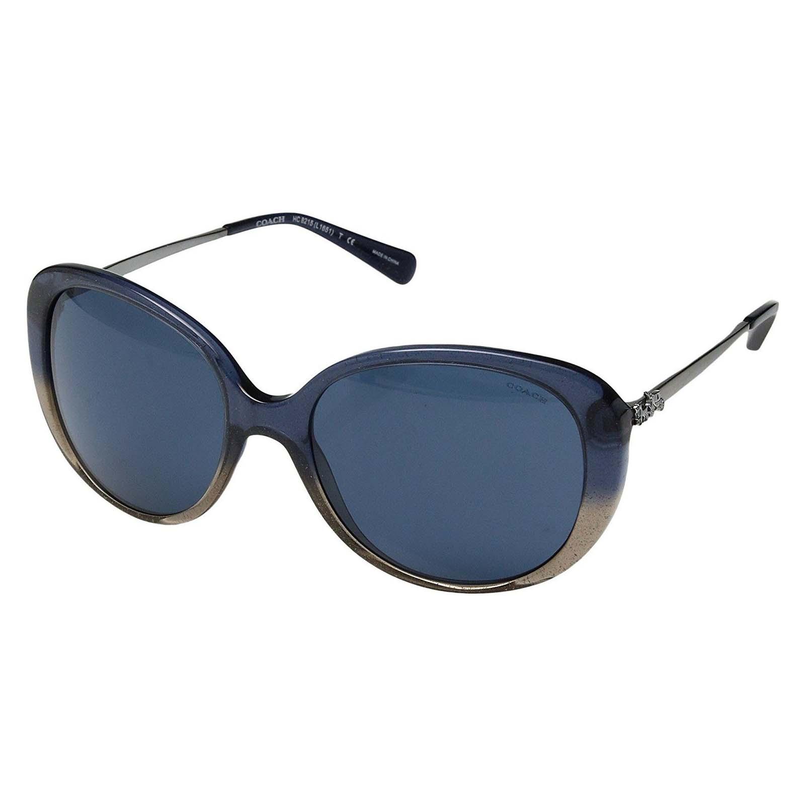 0cfb2a2de8 Coach HC8215 548980 Denim Taupe Glitter Gradient Sunglasses 57-18 ...