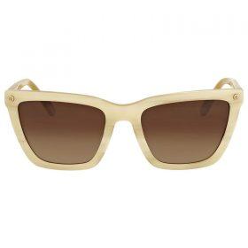 Coach Ivory Horn Square Sunglasses HC8191 HC 8191 542313 56-19-140 Brown Gradien (2)