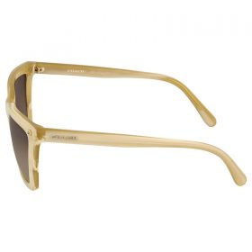 Coach Ivory Horn Square Sunglasses HC8191 HC 8191 542313 56-19-140 Brown Gradien (3)