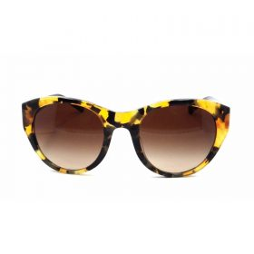 Honey Mosaic Black frames that features Caoch logo on the sides of the temples. These frames come with Brown Grad (
