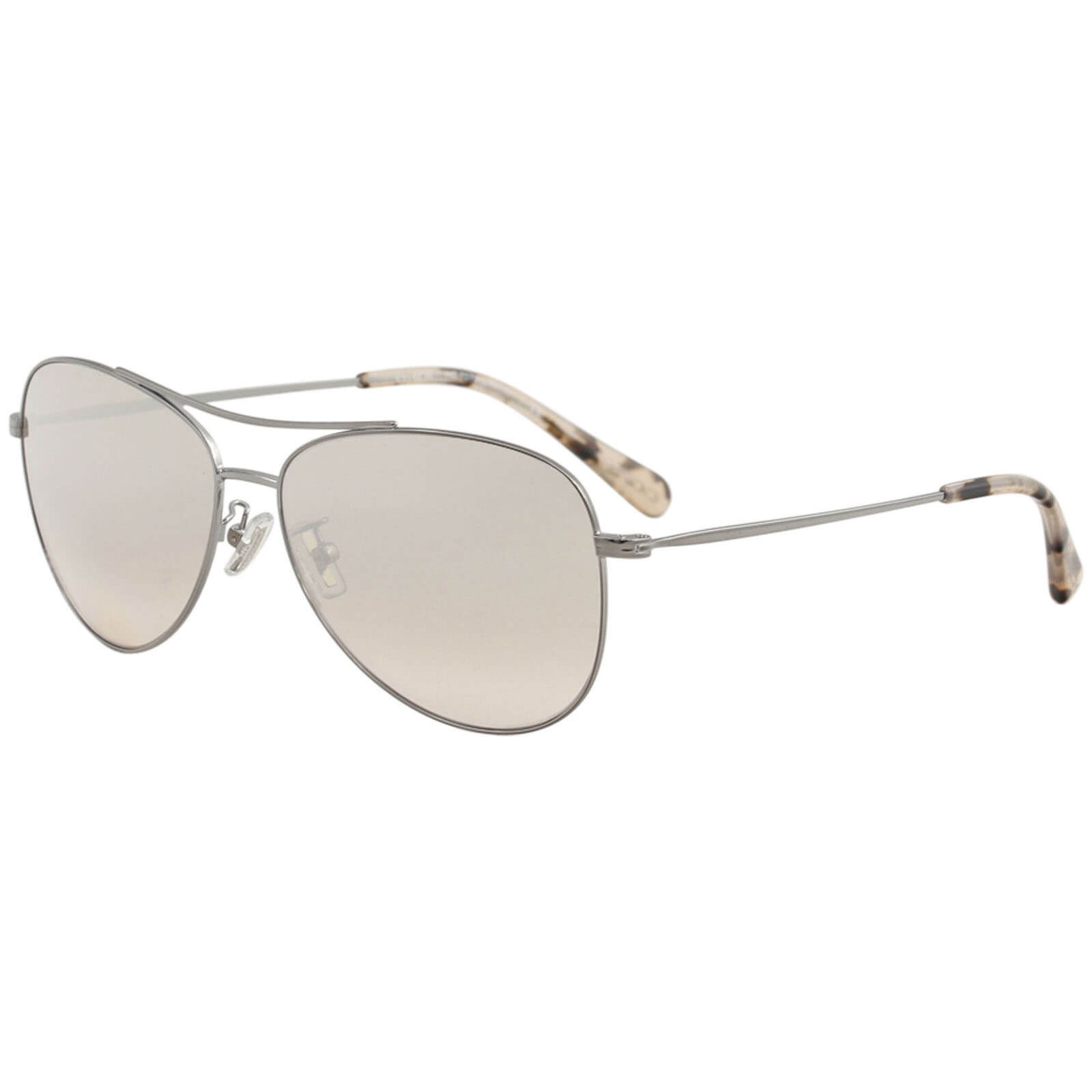 87390938fc755 Coach Women s HC7079 7079 93318Z Gunmetal Pilot Sunglasses