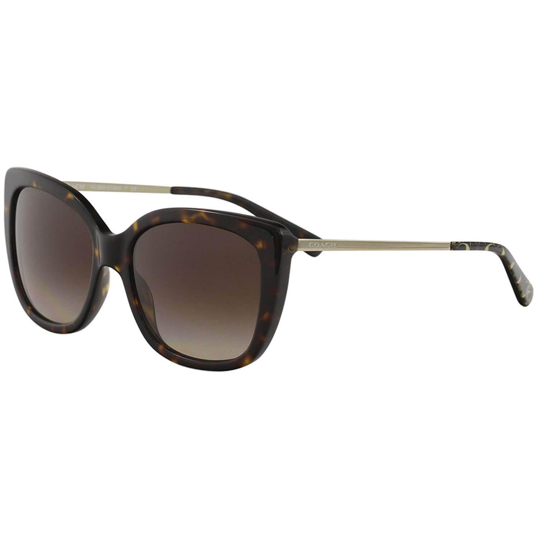 adc4cd0f2ada Coach Women's HC8246 8246 541713 Dark Tortoise Sunglasses