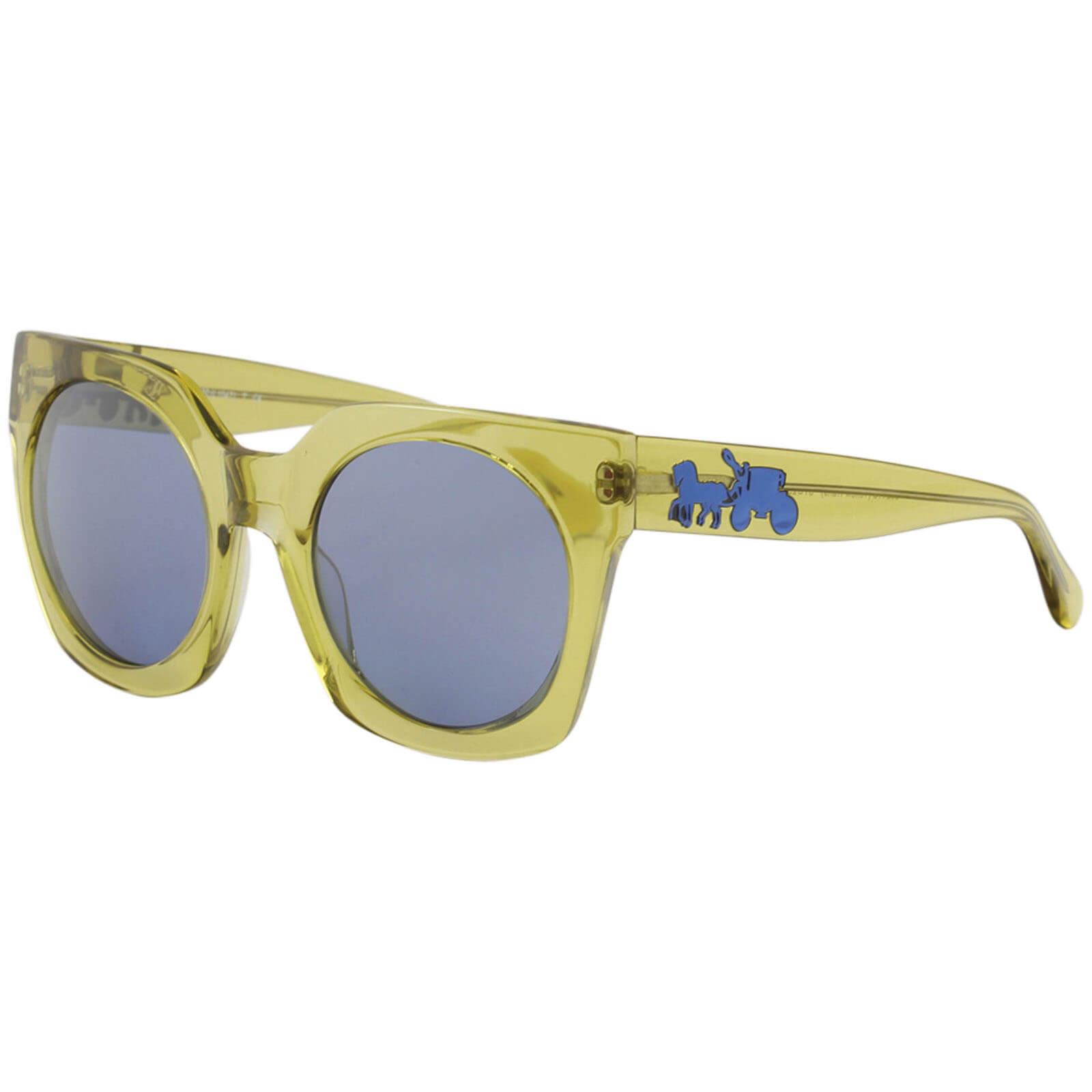 e0c8508e0ede Coach Women's HC8250 8250 55241U Transparent Yellow Sunglasses