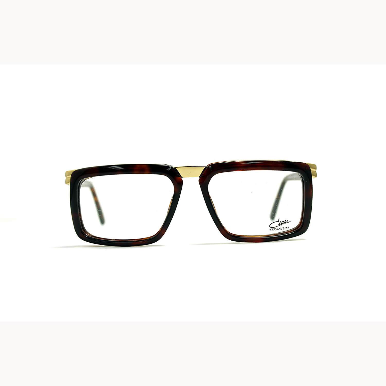 b389236ac0e2 Cazal 6006 002 Brown   Gold Eyeglasses