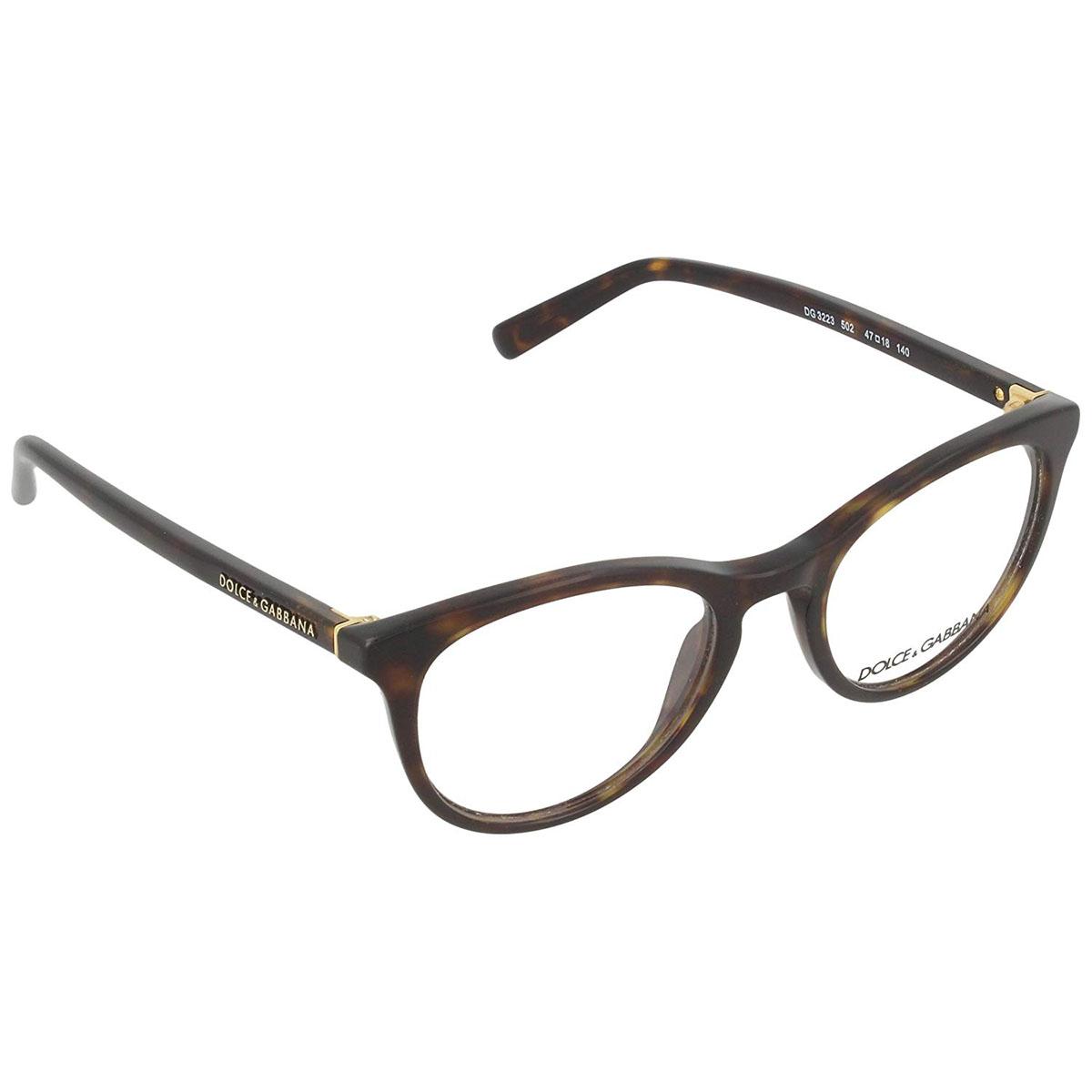 426b6cfd6745 Dolce   Gabbana DG 3223 502 Dark Havana Eyeglasses